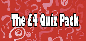 The #4 Quiz Pack from Peacock Quizzes