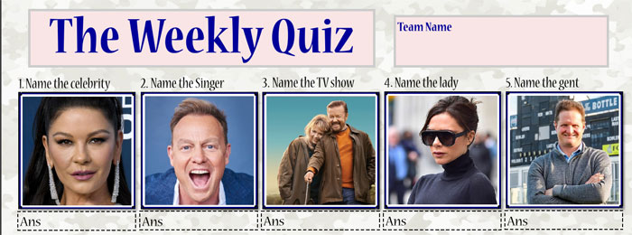 The Weekly Picture Quiz